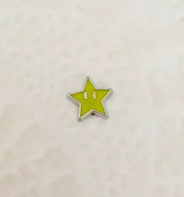 Nintendo Happy Star Floating Necklace Memory Charm