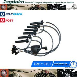 New-Jaguar-XJS-XJ40-XJ6-Ignition-Spark-Plug-Lead-Set-Kit-DAC7811