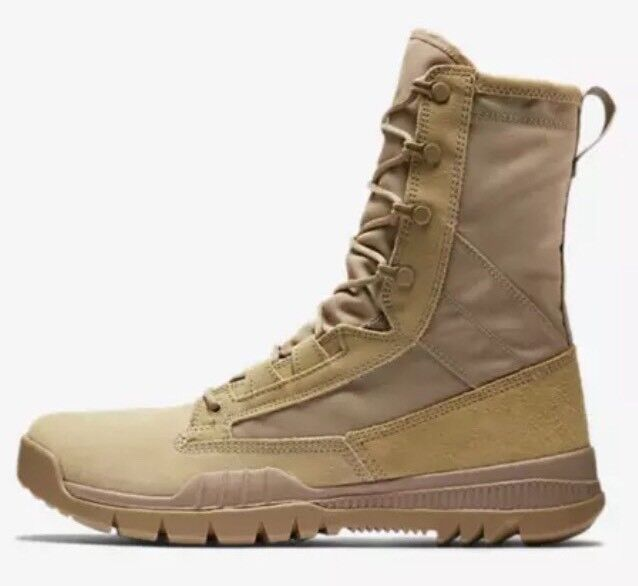 Nike SFB Tactical Military Special Field Boots  8 Leather Khaki Size 12.5 NEW