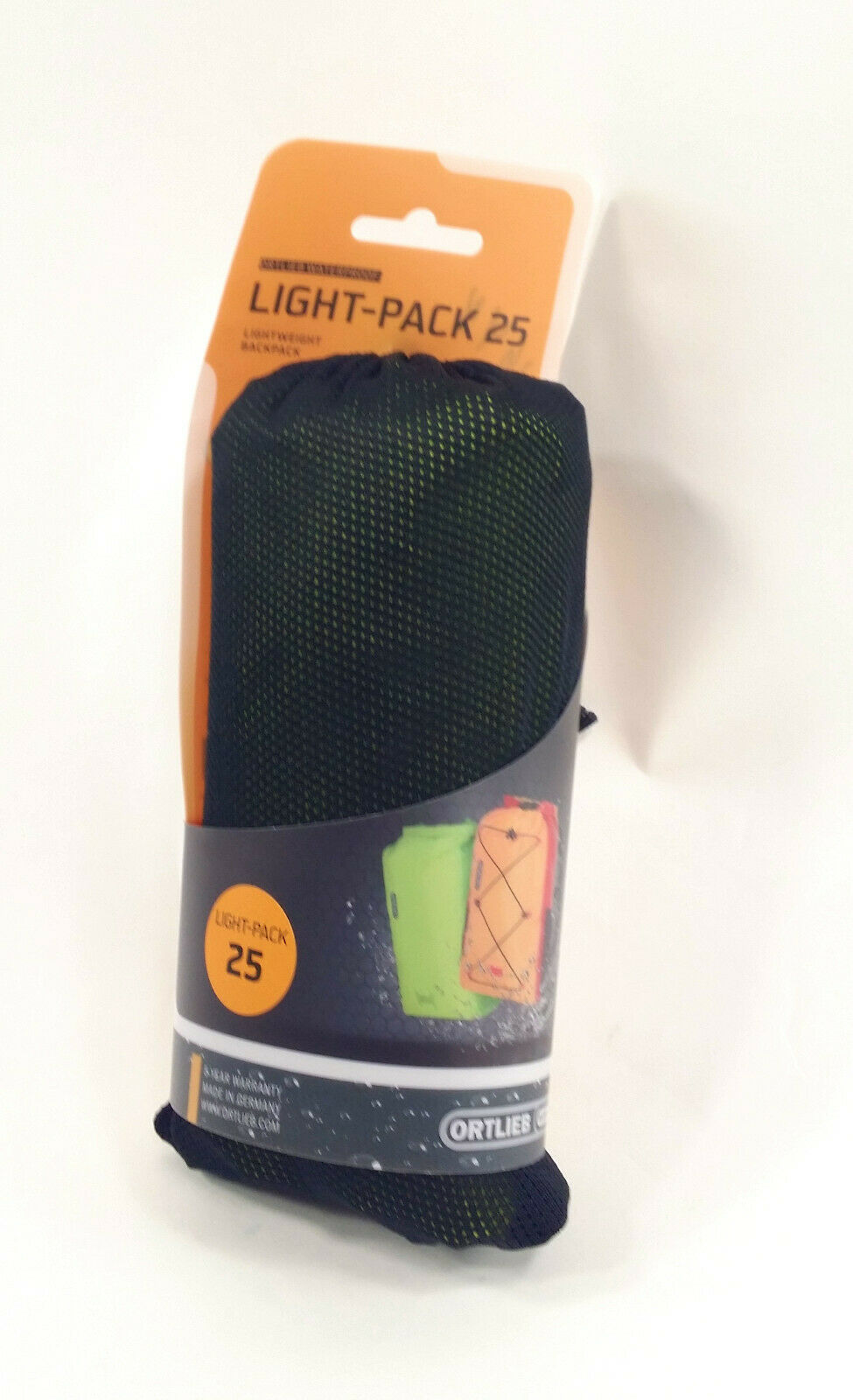 Ortlieb Luz-Pack 25 25L Color verde claro Lima R6002