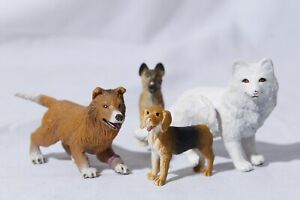 Safari-Ltd-Dog-Figures-Collie-Beagle-Arctic-Fox-Shepherd