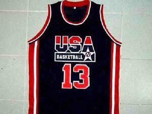 quality design 84855 ee5ae SHAQUILLE O'NEAL TEAM USA BASKETBALL JERSEY SHAQ QUALITY ...