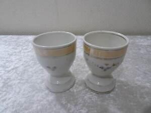2X-Antiguo-Estilo-Moderno-Porcelana-Cacao-Taza-Vintage-Um-1900