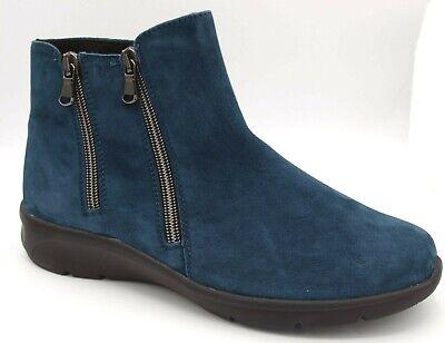 Sonderangebot Naturläufer Stiefeletten petrol blau Schuhe Weite K 0953 | eBay