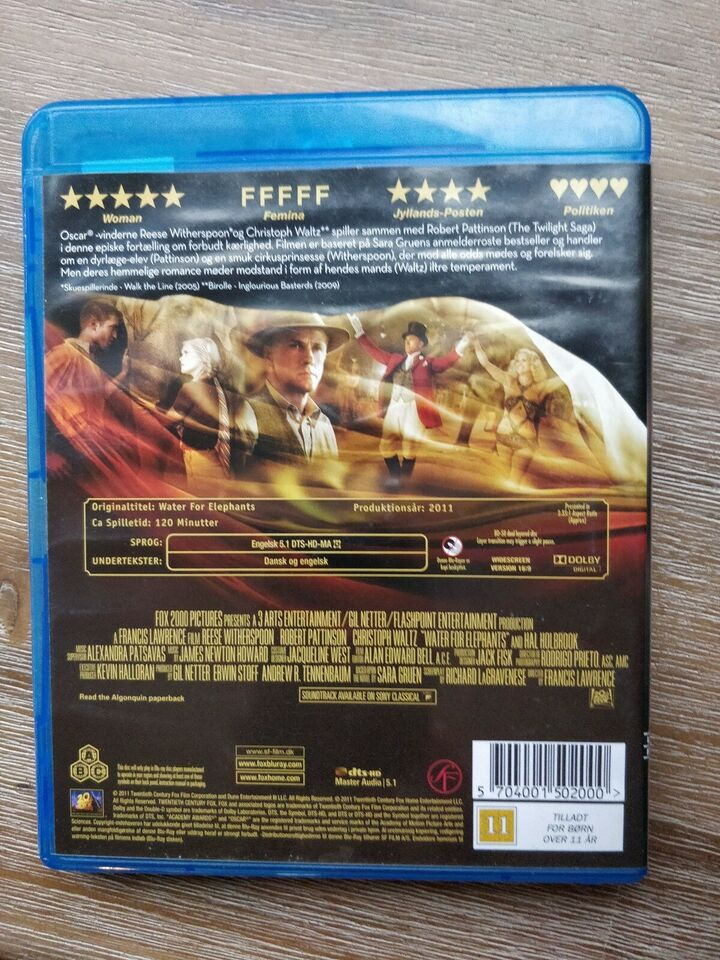 Water for the Elephants, instruktør Francis Lawrence,