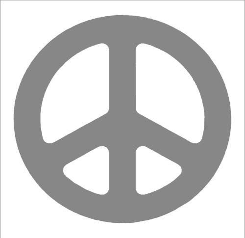 Choose your color /& size sticker Premium cutout vinyl decal Peace Sign