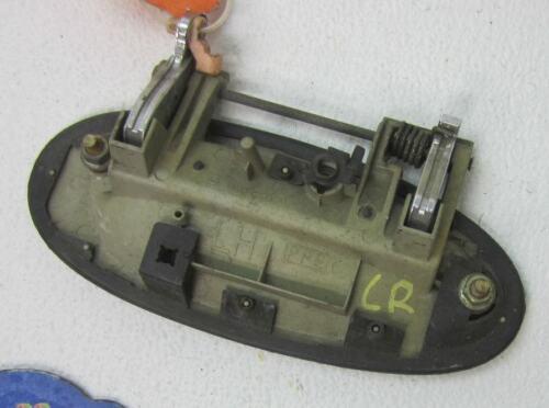 DOOR HANDLE FITS 93-97 ALTIMA DRIVER L LH LR LEFT BACK REAR OUTER GOLD SIDE CAR