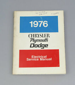 1976-Dodge-Plymouth-Dart-Charger-Valiant-Fury-Car-Electric-Service-Manual