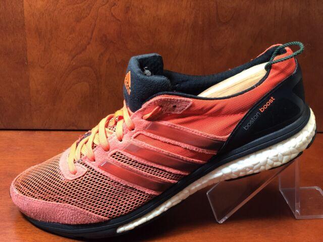 Adidas Adizero Boston Boost 5 Size 9 M Red Black White Running Mens Shoes
