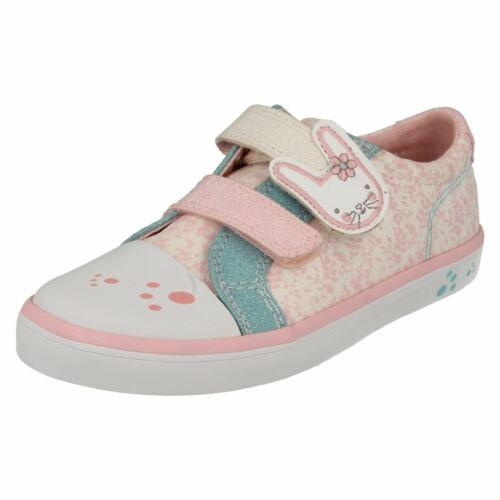 Gracie Bea Clarks Girls Casual Canvas Shoes