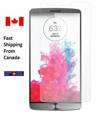 LG G3 Screen Protector D850 D852 HD ULTRA CLEAR Front Tempered Glass