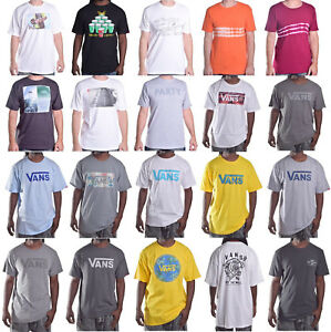 Vans-Men-039-s-Various-Crewneck-Classic-Tee-Shirt-Choose-Color-amp-Size