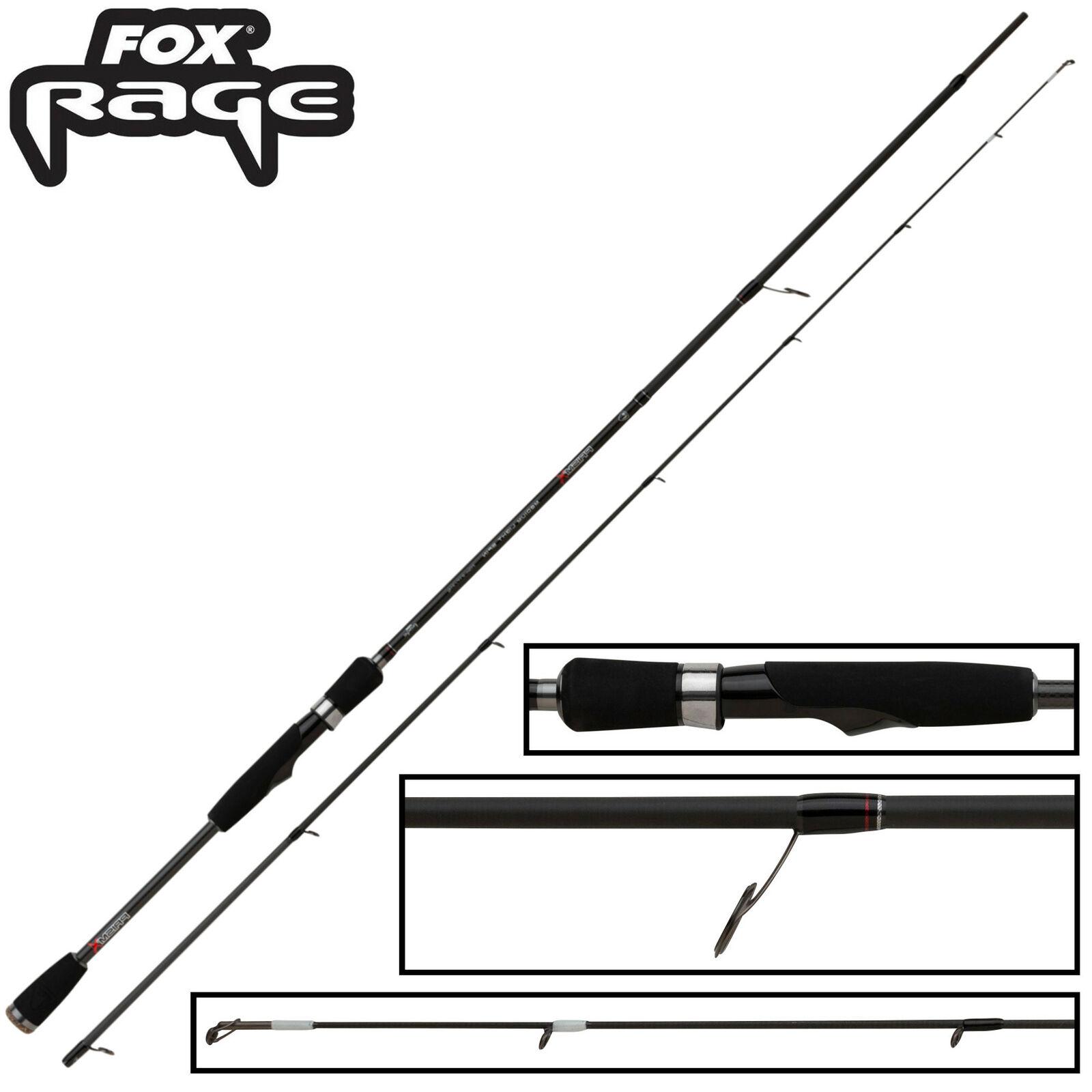 Fox Rage Prism X Medium Light Spin 210cm 3-14g - Spinnrute, Angelrute, Rute