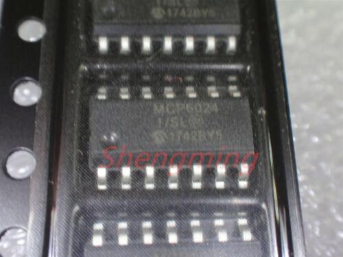 10PCS MCP6024-I//SL SOP-14