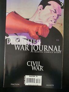 PUNISHER-War-Journal-3-Civil-War-2006-MARVEL-Comics-VF-NM