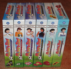 Olive-et-Tom-Captain-Tsubasa-Integrale-34-DVD-VF-Collector-Neuf-sous-blister