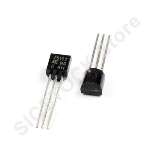 5PCS Z0107NA,116 TRIAC 800V 1A TO-92 Z0107NA 0107 Z0107