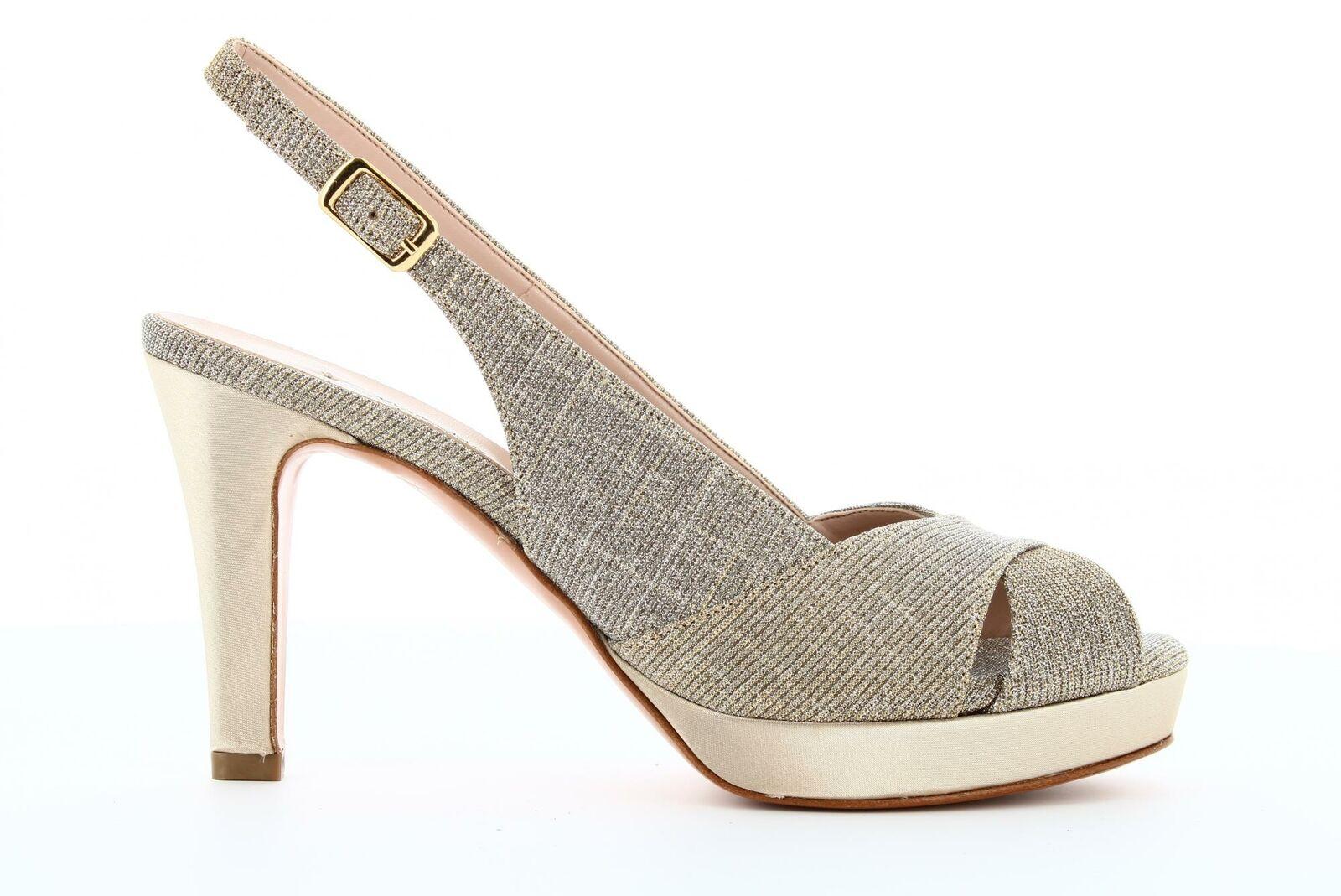L& 039;Amour shoes Woman Sandal 932 Beige mutable p19