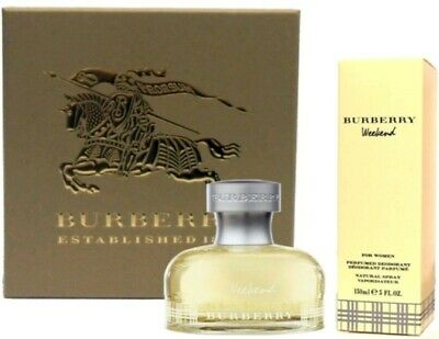 Burberry Weekend For Women: Eau de Parfum 50ml + Deodorante