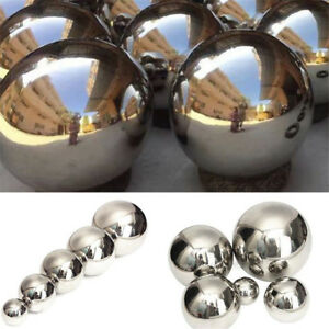 5-Sizes-Stainless-Mirror-Polished-Sphere-Hollow-Ball-Home-Garden-Ornament-Decor