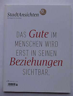 Stadtansichten Magazin Autostadt Wolfsburg 10 Jahre Zeitschrift 36 Oktober 2010