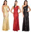 Goddiva-Long-Sequin-One-Shoulder-Evening-Maxi-Gown-Dress-Prom-Ball-Party-8-14 thumbnail 2