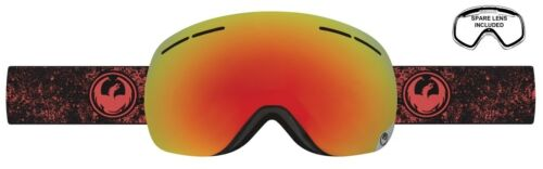 lens Rt$170 NEW Dragon X1S Energy Scarlet Red Mirror Mens Ski Snowboard Goggles