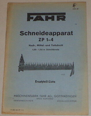 Other Tractor Publications Parts Catalog Drive Schneideapparat Zp 1-4 High Medium And Jigsaw Blades Downcut Large Assortment