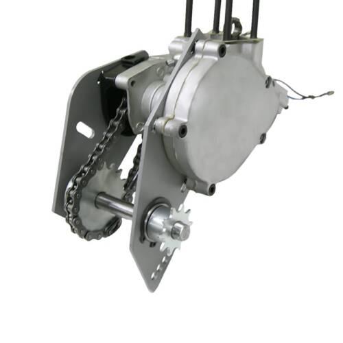Silver Modified Jackshaft Kit For 415 Chain 66cc 80cc Gas Motorized Bicycle