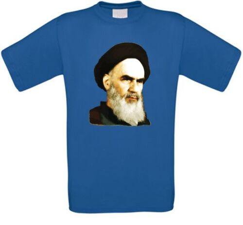 L/' ayatollah Khomeini ruhollah Khomeini Iran téhéran Islam t-shirt toutes tailles NEUF