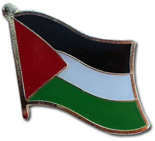 Wholesale Pack of 12 Palestine Country Flag Bike Hat Cap lapel Pin