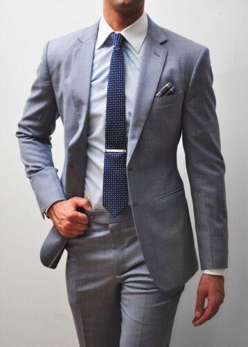 Tuxedos Formele Bruidsjonkers Bruiloft Bedrijf Maatwerk heren Suit Grijze Bruidegom 0m8yvONnw