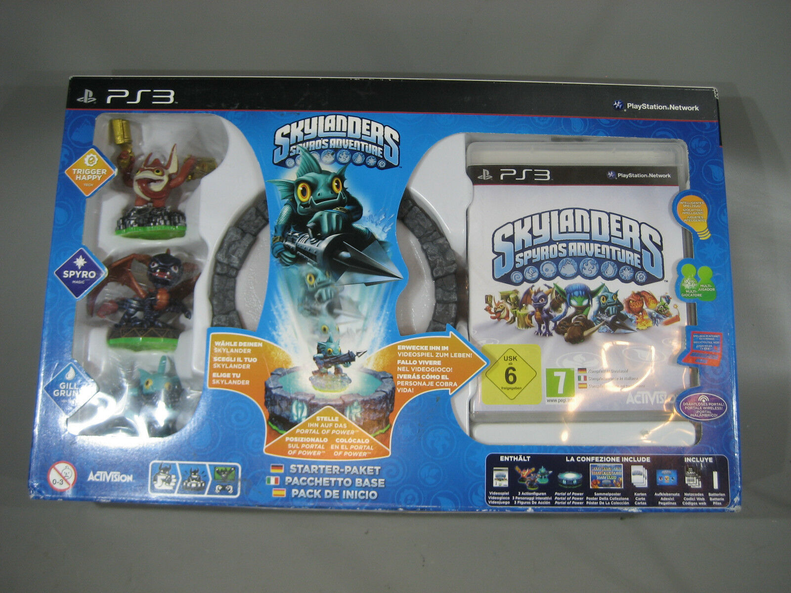 PS 3    Skylander Skylanders Spyro Set .      Ungebraucht