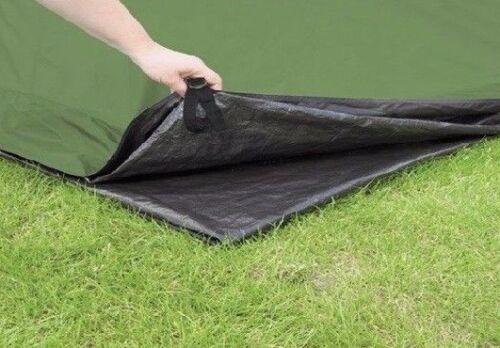 environ 114.30 cm 120 X 45 in DUPONT Noir Tyvek Ultralight Ground Cloth feuille//Tente Empreinte
