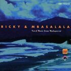 Vocal Music From Madagascar 4010228152227 by Ricky & MBASALA CD
