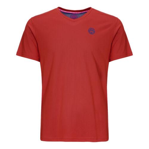 BIDI BADU Herren Ted Tech Tee  T-Shirt rot NEU