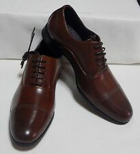KENNETH COLE CAP TOE OXFORD( COGNAC ) NEW WITH BOX SIZE 7 M  # 0232