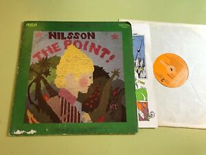 HARRY NILSSON The Point! LP w/full color book '71 lsp4417 stereo rca victor usa