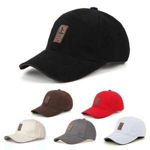 Mujeres-hombres-Al-aire-libre-Ajustable-Gorra-de-beisbol-Golf-hip-hop-Cap