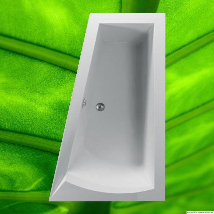 Badewanne 160x100 cm + Füße + Ablauf + Befestigung Wanne 100x160 komplett R