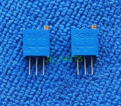 10pcs New 500 Ohm 3296W Trimpot Trimmer Potentiometer 3296