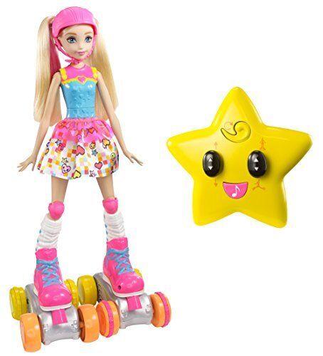 Mattel Barbie Barbie Videospiel-Heldin R/C Rollschuhläufer Kinder Spielzeug NEU
