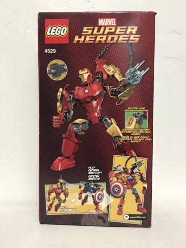 4529 Lego Marvel Super Heroes The Avengers Iron Man, 44 PCS. NEW!