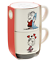 Hallmark-Peanuts-Linus-and-Sally-Roses-Are-Red-Stacking-Mugs-Set-of-2-New 縮圖 1