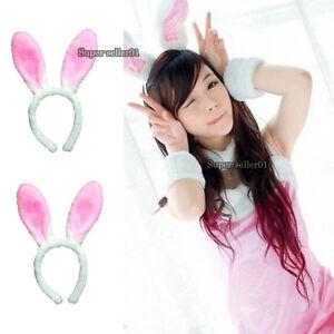 Cute Bunny Rabbit Ears Headband Hair Band Girls Costumes for Hallowmas Christmas