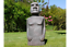 110cm-Tall-Easter-Island-Moai-Man-MGO-Garden-Sculpture-Stone-Effect-Mottled-Grey thumbnail 1