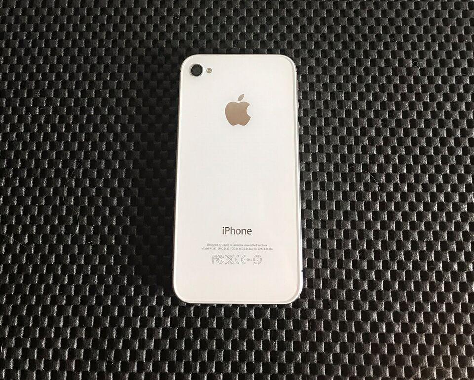 iPhone 4S, 16 GB, hvid