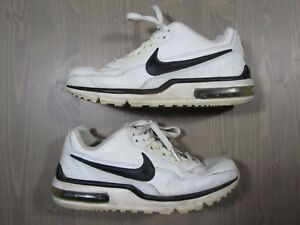 Details about Nike Air Max LTD Mens 316376 101 White Black Leather schuhe Sz 8 Beaters Airmax