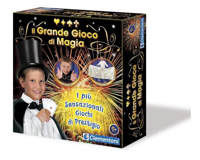GRANDE GIOCO DI MAGIA 13647 Clementoni -nuovo-italia