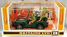 Britains Deetail # 9786 U.S. Machine Gun Jeep painted metal - 1st version - MIB
